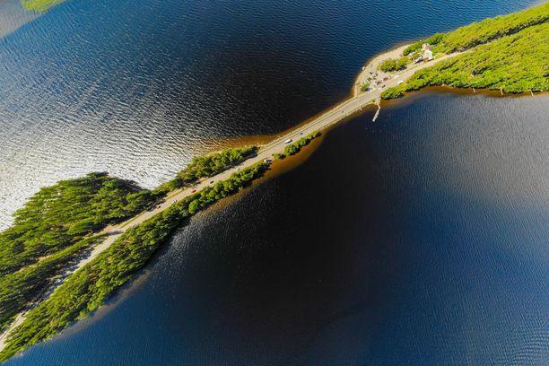 Pulkkilanharju on vain yksi Salpausselkä Geoparkin upeista luontokohteista.