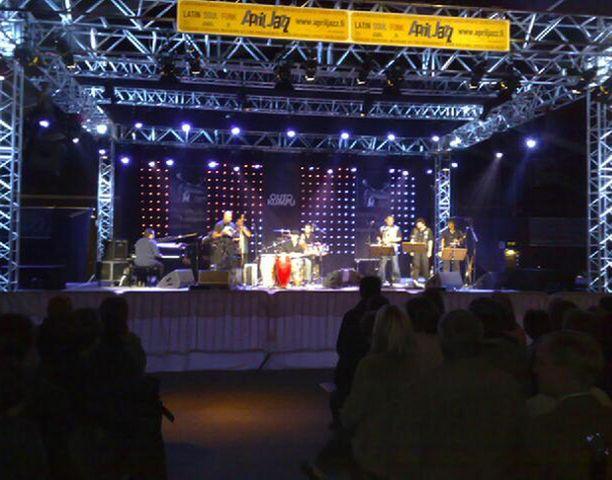 Jazz pauhaa Espoossa April Jazz -festivaaleilla.