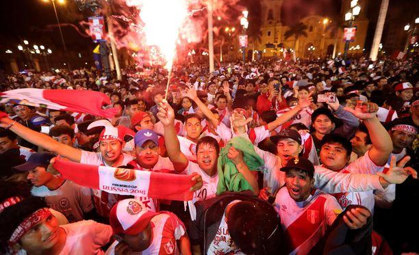 Jalkapallon MM-kisapaikka sai Perun sekaisin. Maa on pelannut MM-turnauksessa viimeksi vuonna 1982.