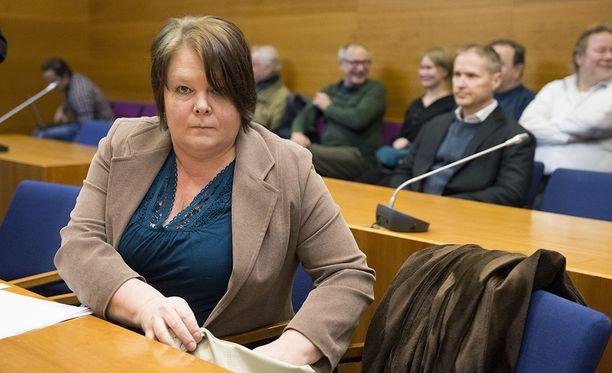 Terhi Kiemunki irtisanottiin eduskunta-avustajan tehtävistä. Arkistokuva.