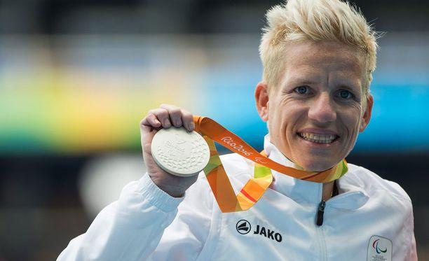 Vervoort voitti Riossa 400 metrin ratakelauksen hopeaa T52-luokassa.