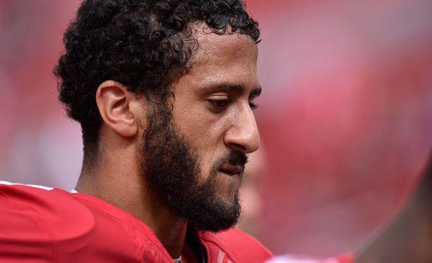 Pelinrakentaja Colin Kaepernick edustaa San Francisco 49ersia.