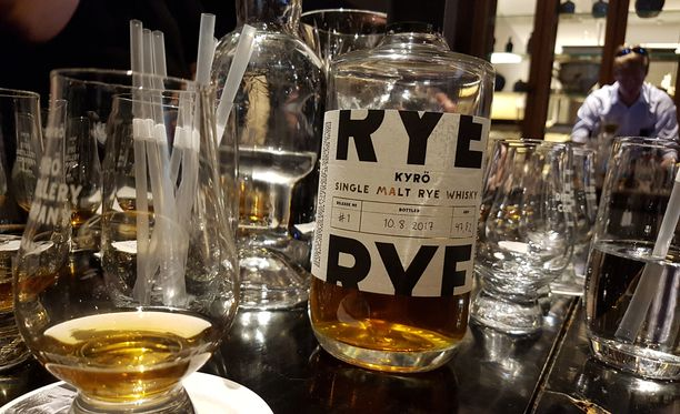 Kyrö Distillery Comapanyn ruisviskin 1. erän pullotusvahvuus on 47,8 tilavuusprosenttia.