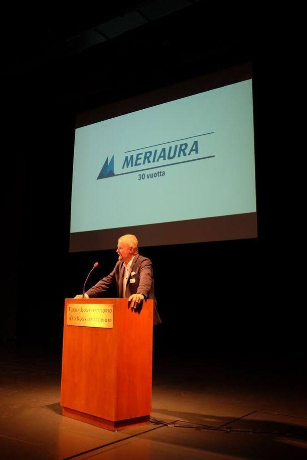 Meriaura Group täytti lokakuun lopussa tasan 30 vuotta.