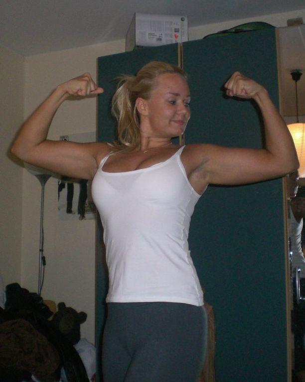 Vuonna 2006 Anni oli jo omaksunut urheilullisen elämäntavan.