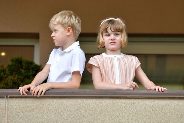 Prinssi Jacques ja prinsessa Gabriella ovat kuusivuotiaita.