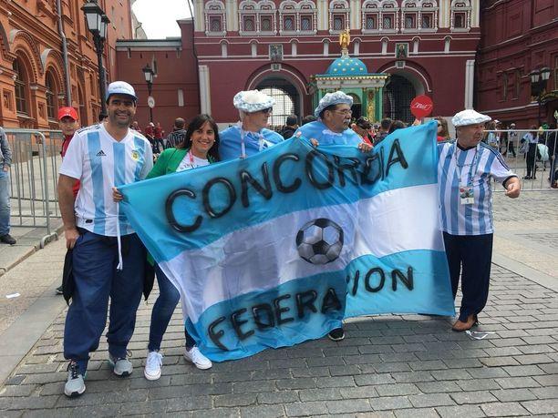 Argentiinalaisfanit eivät tiedä kauheasti vastustajistaan, kuten Islannista.