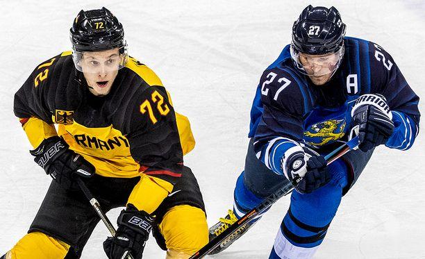 Petri Kontiola oli Pyeongchangin olympiaturnauksessa Suomen ykkössentteri.