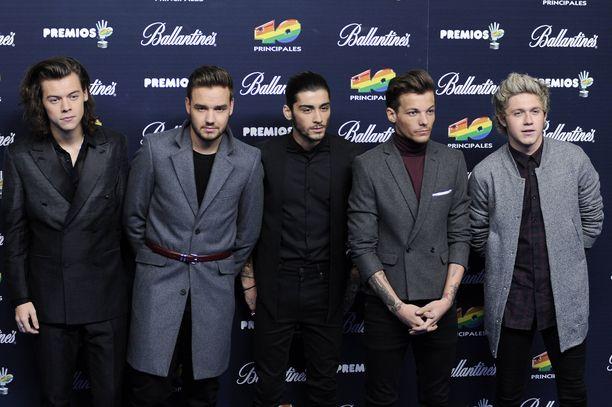 One Directionin albumeja on myyty maailmanlaajuisesti yli 46 miljoonaa kappaletta. Kuva vuodelta 2014.
