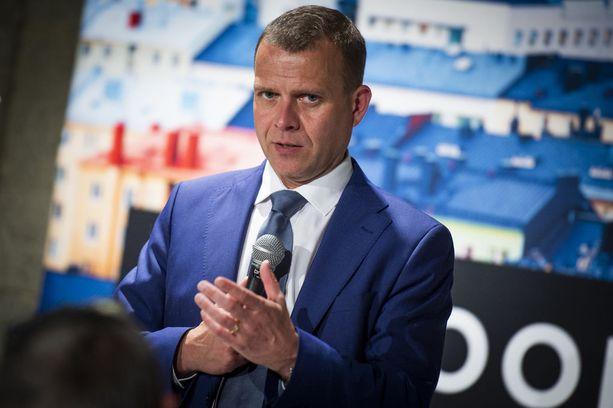 """Kokoomuksen puheenjohtajan Petteri Orpon mukaan hallitusyhteistyö perussuomalaisten kanssa on """"erittäin epätodennäköistä""""."""