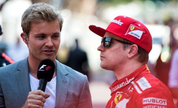 Nico Rosberg oppi omien F1-vuosiensa aikana sen, että Kimi Räikkösen kanssa voi ajaa huoletta kilpaa. Suomalainen on saanut pitkällä urallaan rehdin kilvanajajan maineen.