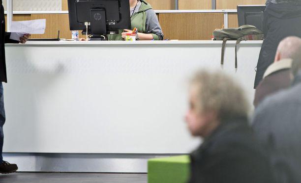 Te-toimistojen työllistymistä edistäviin palveluihin on ollut kova kysyntä. Kuvituskuva.