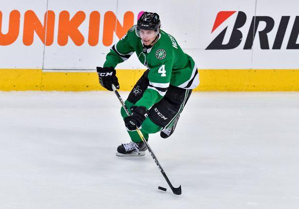 Miro Heiskanen pelasi loistavan kauden NHL:ssä.