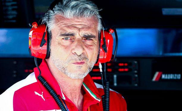 Maurizio Arrivabene ei yllättynyt Ferrarin vahvasta alkukaudesta.