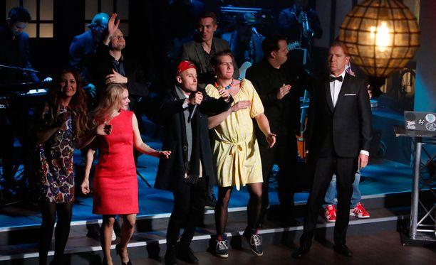 Saturday Night Liven ohessa nähtiin tavallista enemmän mainoskatkoja, mutta mainonnan kokonaismäärä oli entisellään.