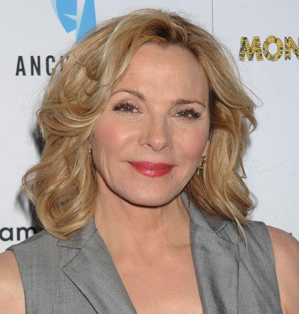 Amerikkalaisnäyttelijä Kim Cattrall on 58-vuotias.