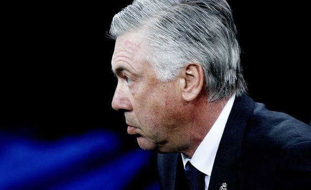 Carlo Ancelotti ei ole innostunut Liverpoolista.