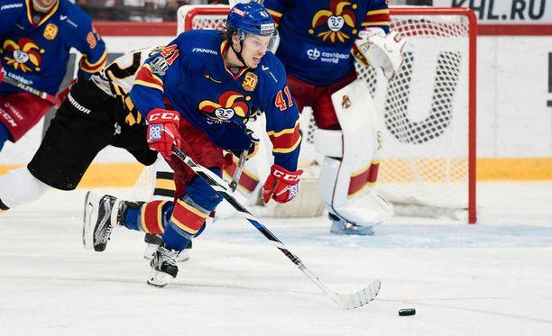 Antti Pihlström on tärkeä osa Jokerien hyökkäystä tulevassa ZSKA-sarjassa.