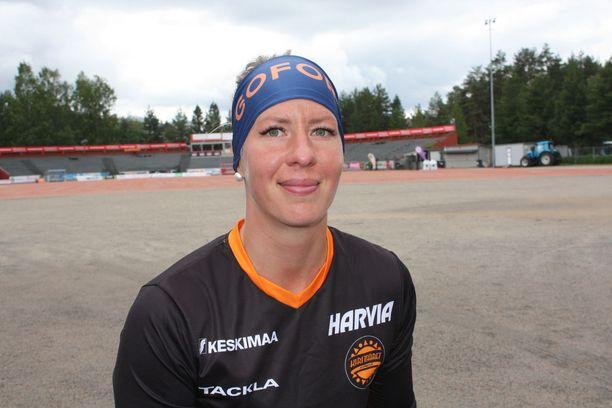 Virpi Hukka on vuoden 2018 pesäpalloilija.