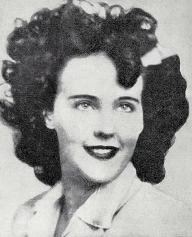 Tältä Elizabeth Short näytti poliisin aikanaan julkaisemassa kuvassa.