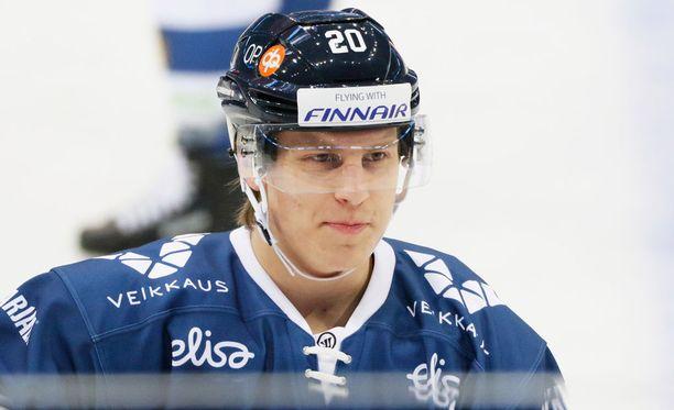 Eeli Tolvanen on esiintynyt tällä kaudella jo Leijonissakin.
