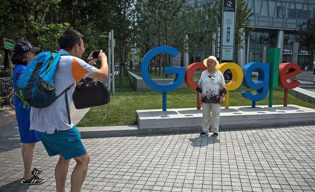 Googlen toimisto Pekingissä.