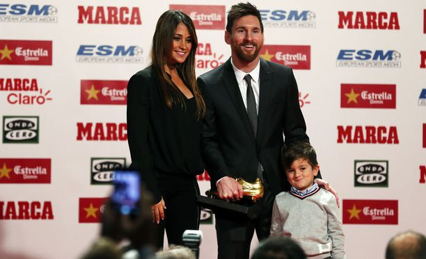 Antonela Roccuzzo ja Leo Messi saivat kolmannen pojan.