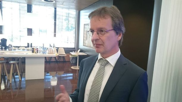 """Nordean maajohtaja Ari Kaperi vakuutti lehdistötilaisuudessa, että Nordea sanoo """"ei"""" kaikille uusille yhtiörakenteille, joissa liiketoiminnallinen käyttötarkoitus ei ole selkeä."""