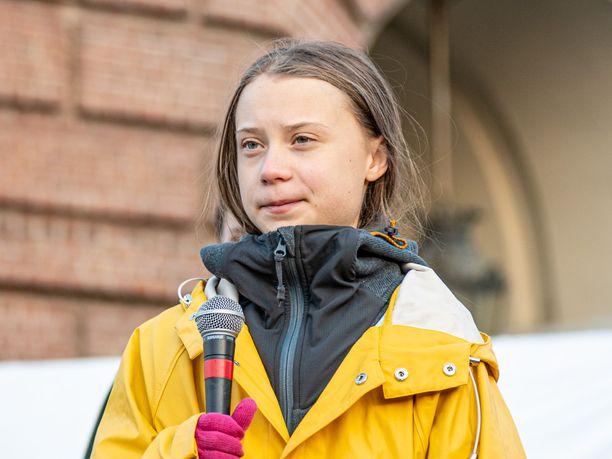 Greta Thunbergin tviitti aiheutti somekohun Saksassa.