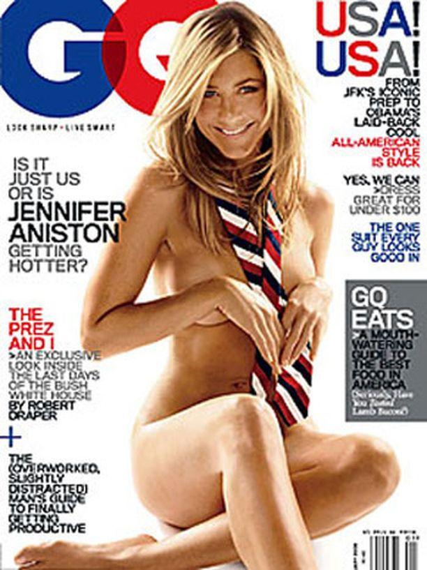 Tämän kuvan moni muistaa: GQ-lehden kansi vuodelta 2009.