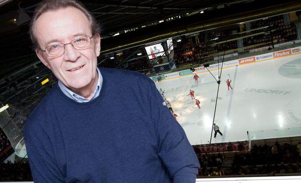 Frank Moberg pitää Matti Hagmania Suomen kaikkien aikojen keskushyökkääjänä.