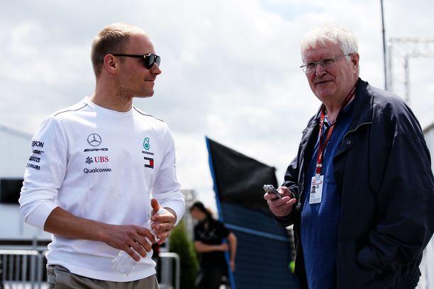 Heikki Kulta on suomalaisten F1-kuskien luottomies varikoilla. Veteraani ei päässyt todistamaan Valtteri Bottaksen viimeisintä GP-voittoa Sotshiin.