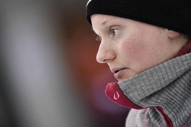 Johanna Matintalo oli vireessä loppiaisena Etelä-Tirolissa.