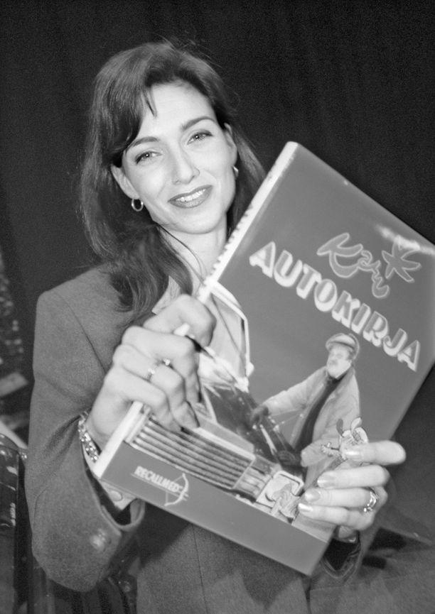Hammermann juonsi 1990-luvulla Matkalle maailman ympäri -sarjaa sekä muun muassa Telvis-gaalaa ja Matka-messuja. Kuva vuodelta 1998.
