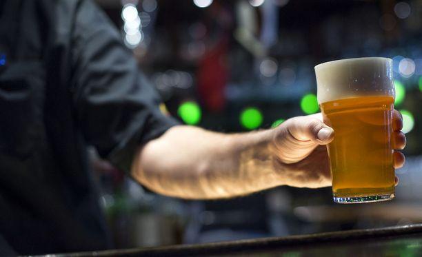 Olut jäi saamatta Iltakoulussa. Kuvituskuva ei liity tapaukseen.
