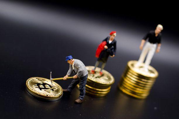 Bitcoinin arvo on noussut puolen vuoden aikana merkittävästi.