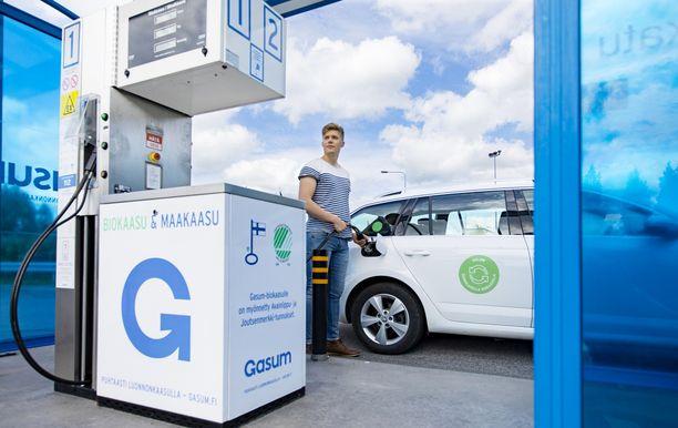 Kaasu sopii hyvin työsuhdeautoilijalle edullisuutensa ja ympäristöystävällisyytensä ansiosta.