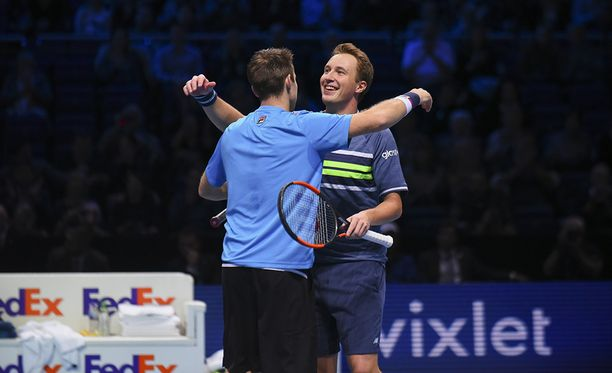 John Peers ja Henri Kontinen lähtevät Australian avoimiin turnausvoitto taskussaan.