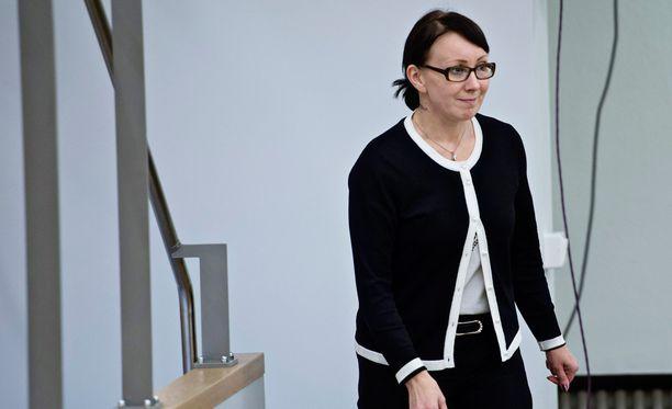 Hanna Mäntylä on ollut tähän saakka sosiaali- ja terveysministerinä.