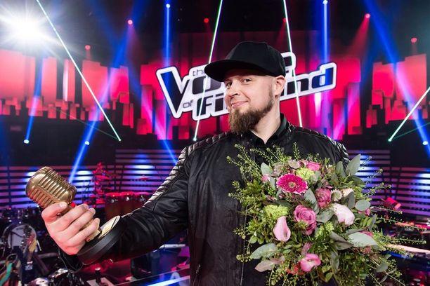 Jerkka Virtanen voitti Voice of Finlandin keväällä 2018.