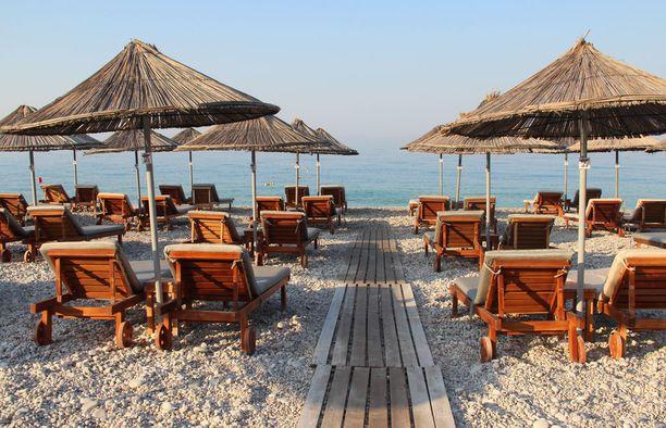 Dhërmi on upea rantakohde Albaniassa.