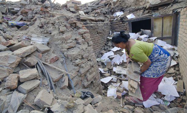 Tiistaina Nepalissa koettiin uusi järistys.