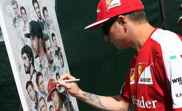 Kimi Räikkönen tiedosta ongelmansa aika-ajoissa.