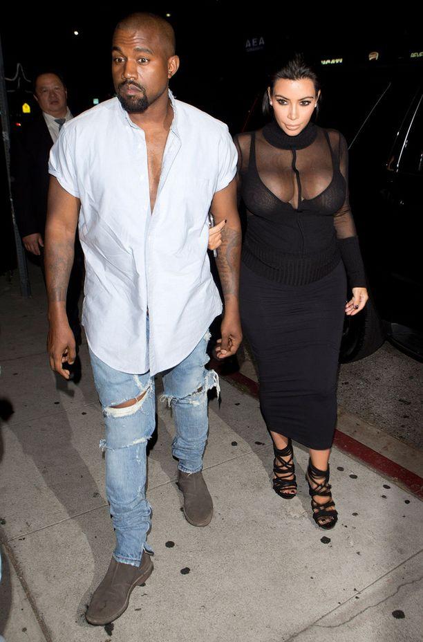 Kim ei ole tinkinyt tyylistään raskautensa aikana.