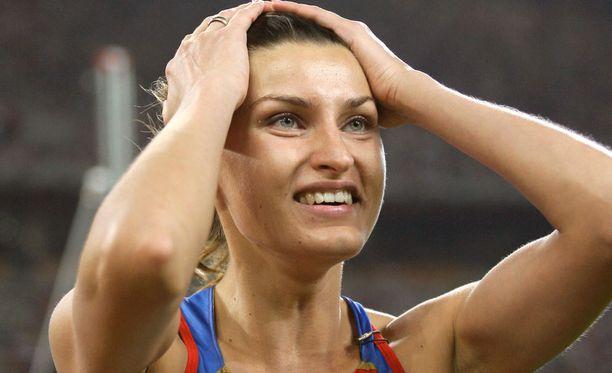 Anna Tshitsherova menettää vuoden 2008 olympiapronssinsa.