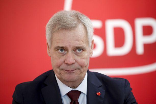 Keskusta haluaa SDP:ltä pääministeri Antti Rinteen vaihtamista.
