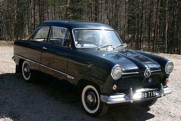 """TANE Ford Taunus 12M """"Weltkugel"""" 1952"""