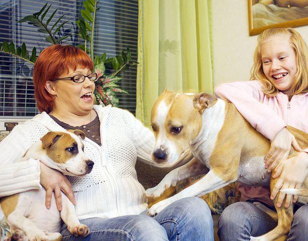 Mallu perheineen valmistautui huolellisesti koiralliseen elämään.