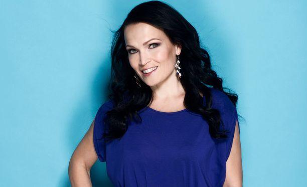 Tarja Turunen on yksi neljästä The Voice of Finlandin tähtivalmentajasta.