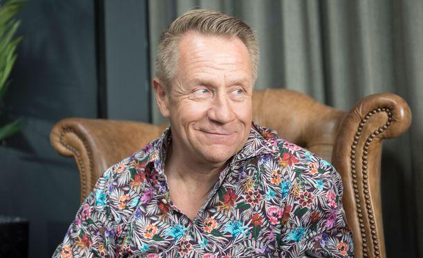 Olli Lindholm on yksi The Voice of Finland -ohjelman tähtivalmentajista.